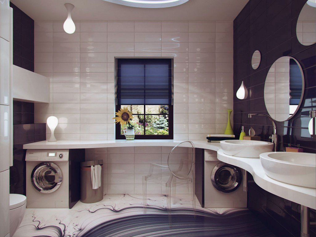 40 of the best modern small bathroom design ideas for Toilet interior design ideas