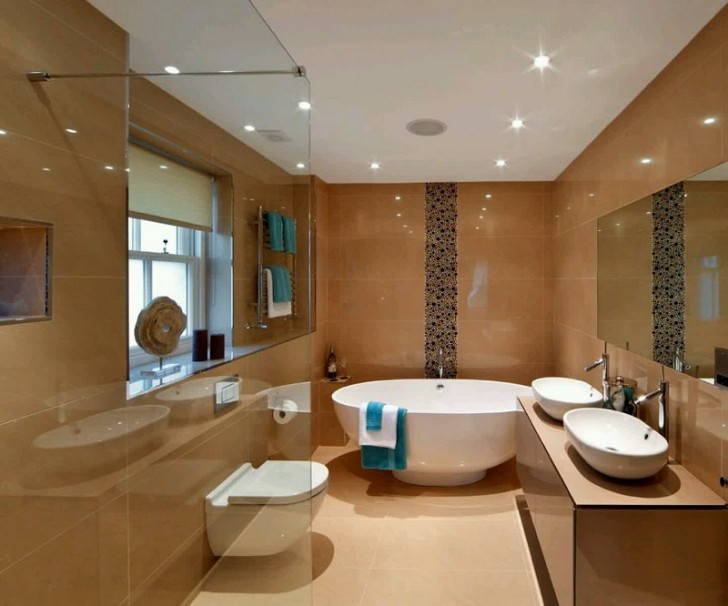 luxury small bathroom modern bathroom design ideas metalkla - New Modern Bathroom Designs