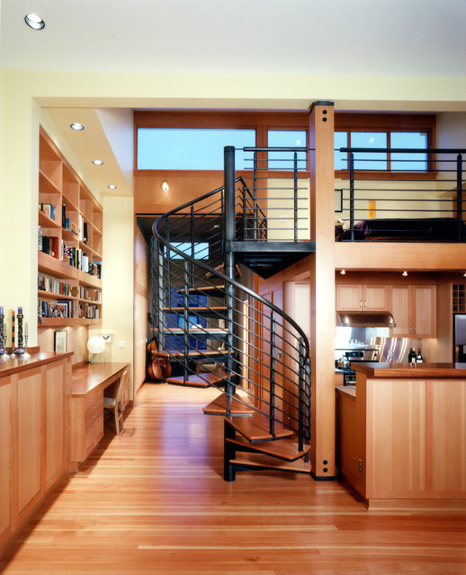 modern-living-loft stairs