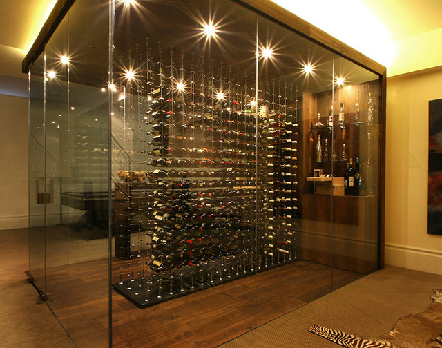 31 modern wine cellar design ideas to impress your guests - Home wine room ...