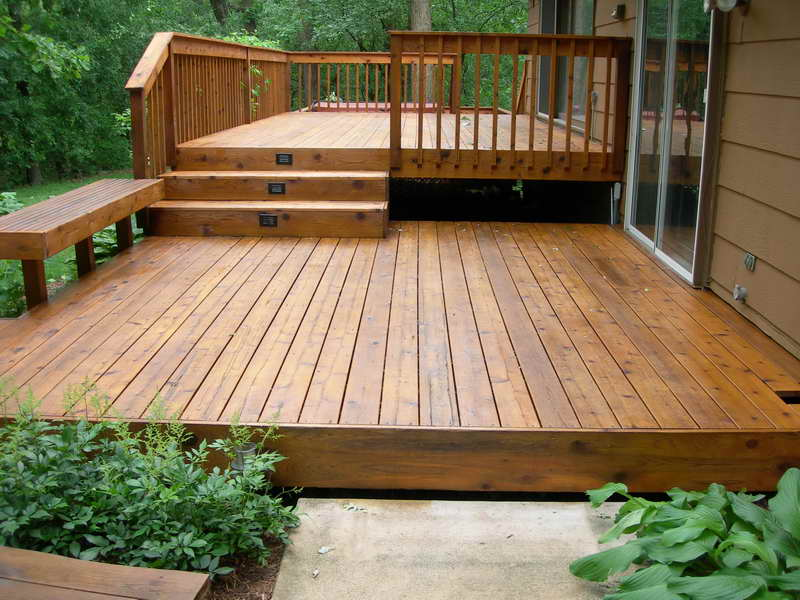 outdoor backyard deck designs