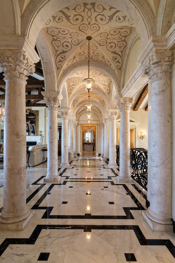 palatial home with granite and marble work