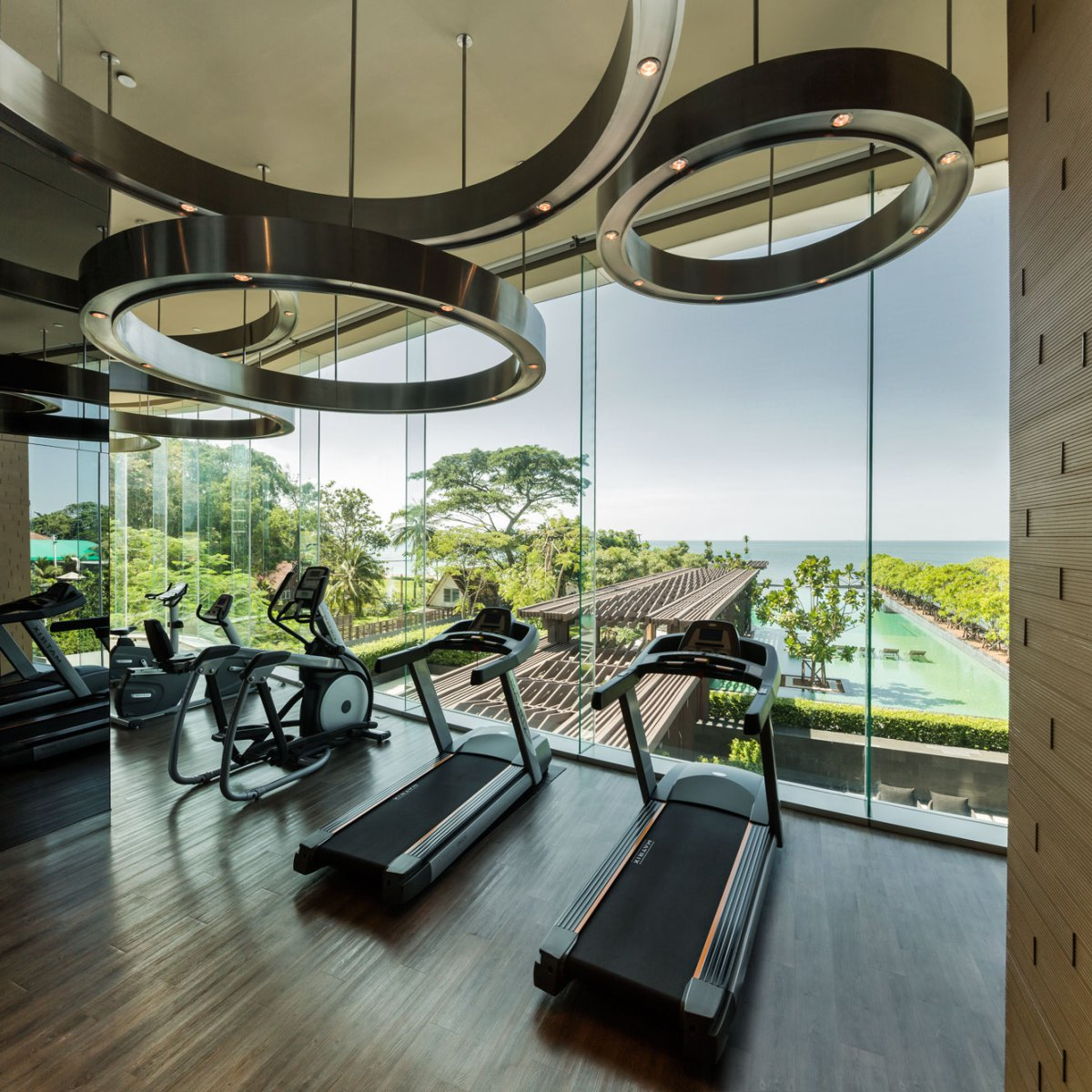 20 Ultra Modern Sleek Gym Design Collection To Get Inspired on New Get Design  id=58783
