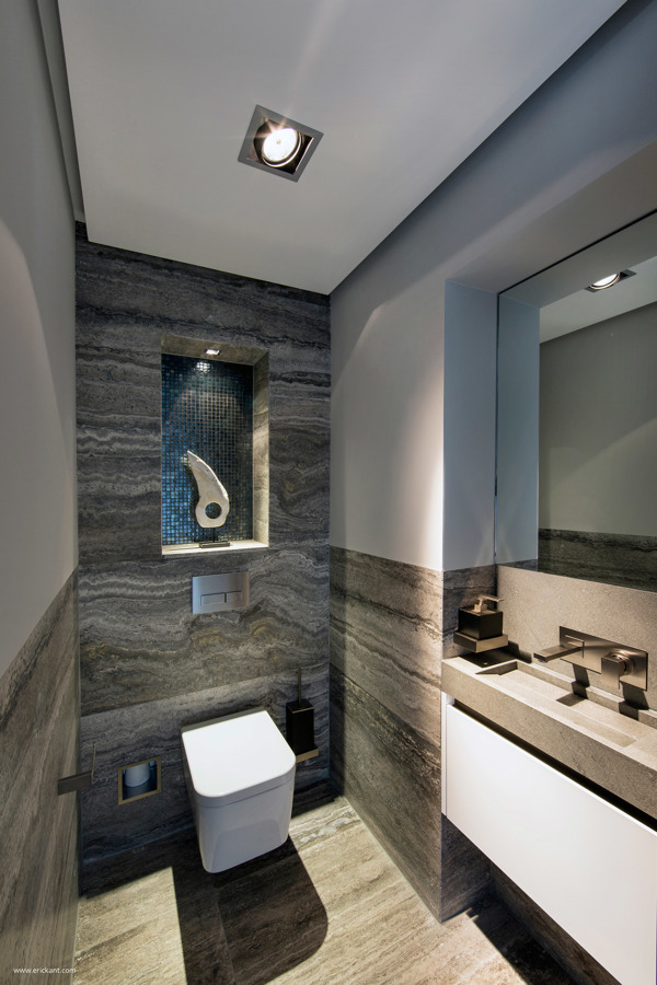 40 of the best modern small bathroom design ideas for Small toilet room design