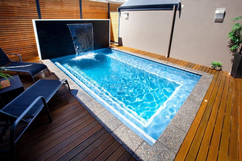 small-backyard-with-pools-decks-floor-plan-decor-with-waterfall