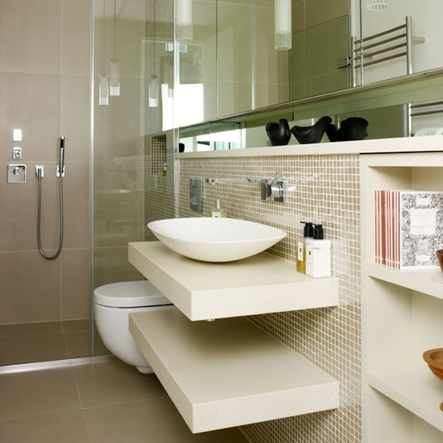 Bathrooms designs bathroom oval white tubs over images for Small lavatory ideas
