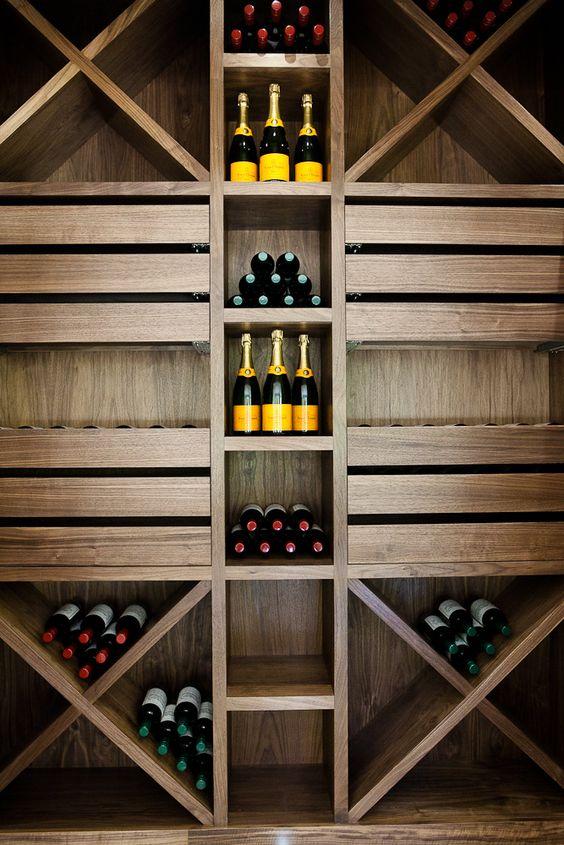 small but unique wine cellar