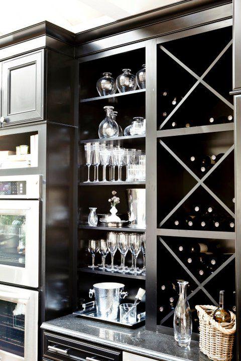 small cabinet wine storage
