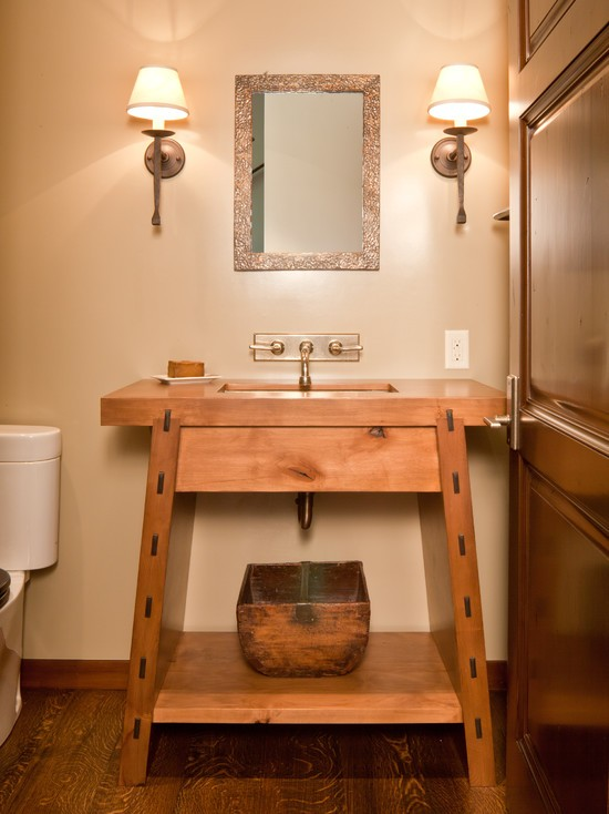 Wood Bathroom Decorating Ideas ~ Beautiful bathroom ideas to try this new year