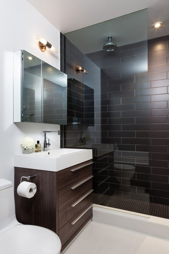 40 Of The Best Modern Small Bathroom Design Ideas on Modern Small Bathrooms  id=43117