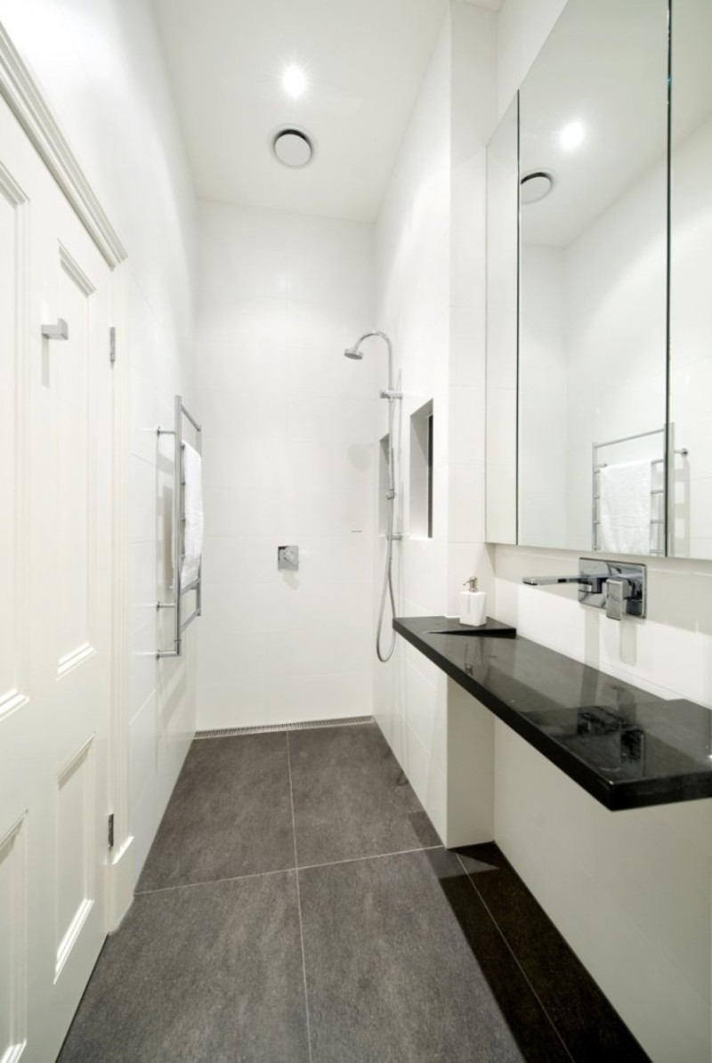 tiny modern bathroom, bathroom, modern design