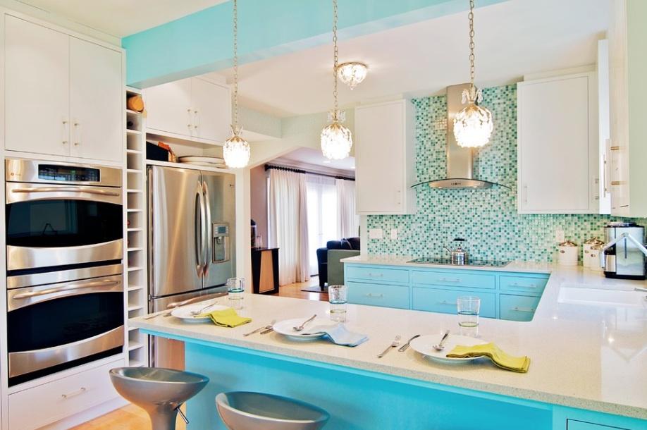 turquoise-kitchen-tile