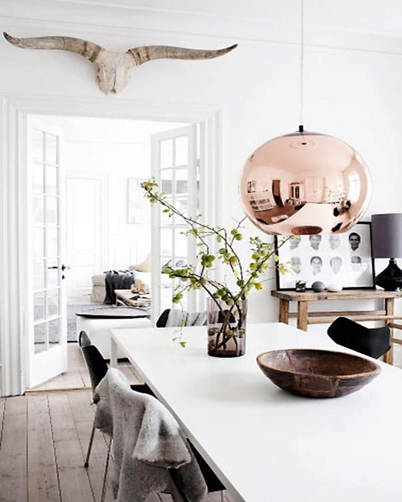 Alluring Scandinavian Dining Room