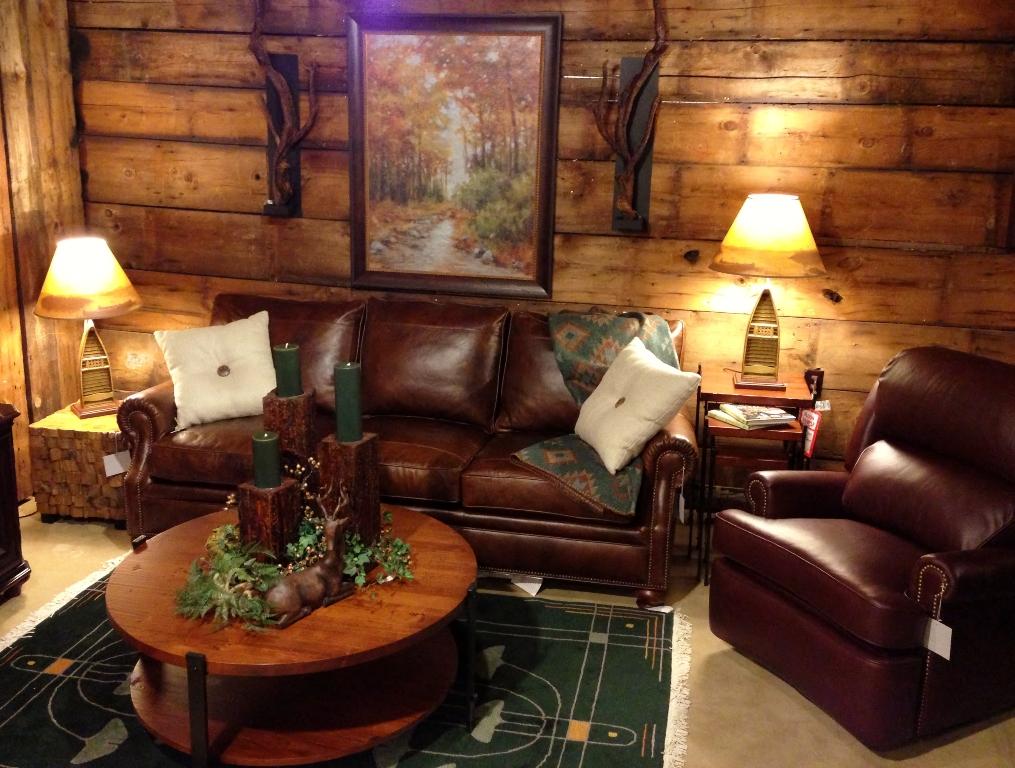 Amazing rustic living room design