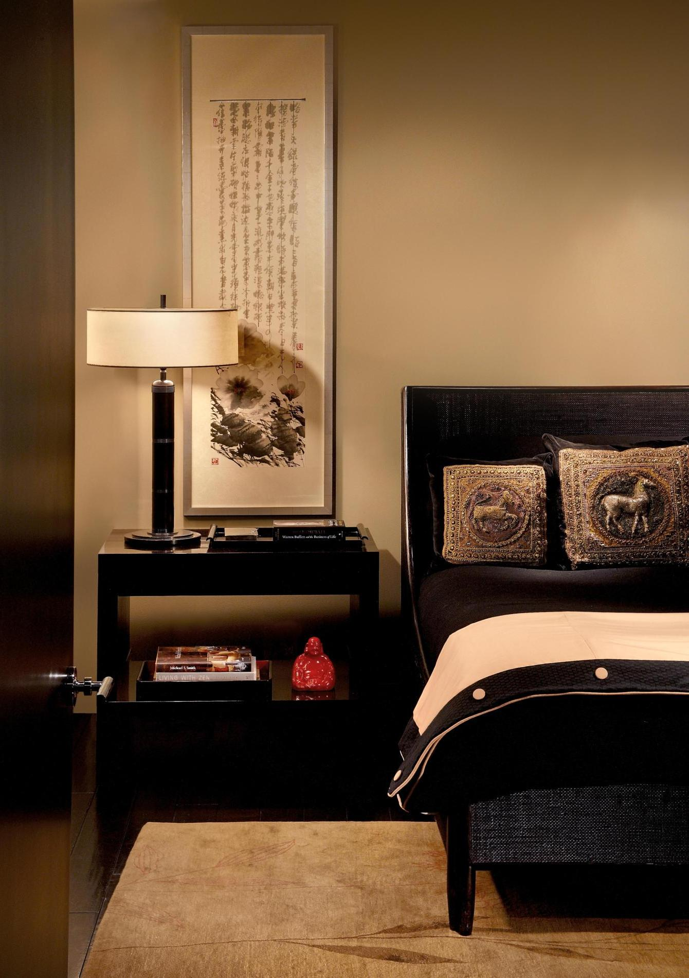 Asian Inspired Bedroom Designs 2