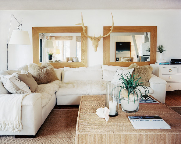 Beach Living Room Photos