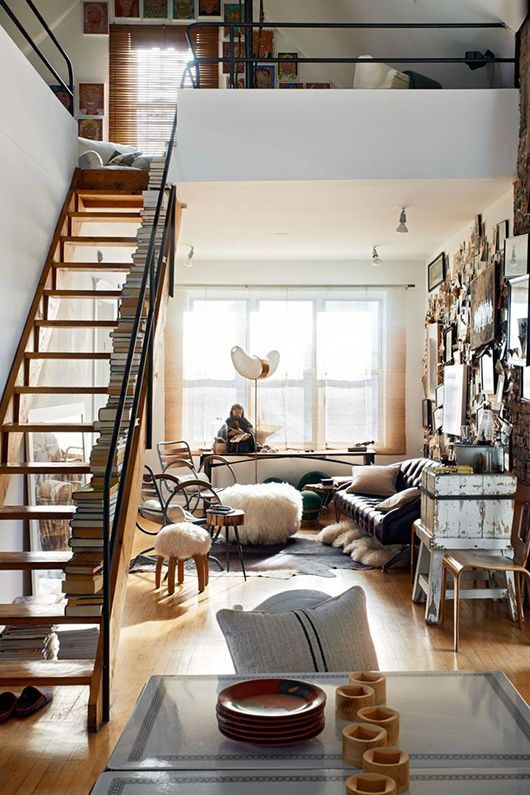 Beautiful chic little urban loft