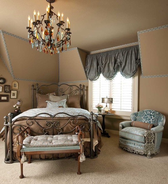 Blue Brown Bedroom Pictures: 25 Stylish And Practical Traditional Bedroom Designs