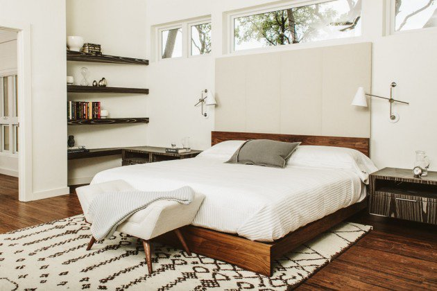 The Simplicity Of Modern Midcentury Bedroom Explained: mid century modern design ideas