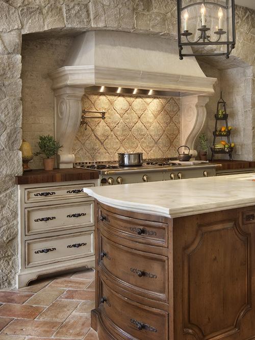 Classic Mediterranean Kitchen