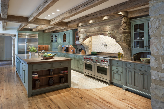 Cold Springs Farm Kitchen rustic-kitchen
