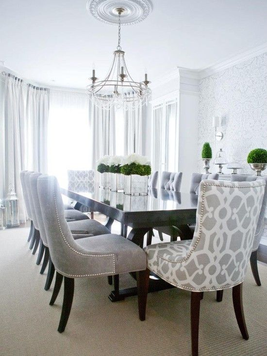25 sleek and cool contemporary dining tables for Decorating contemporary dining room