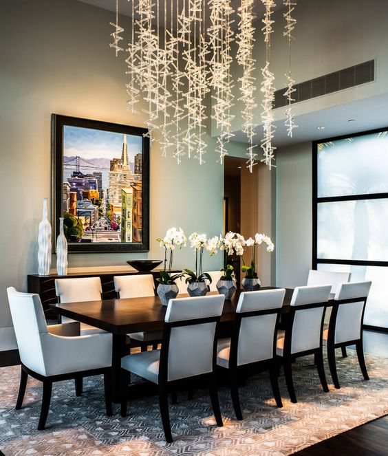 Contemporary Dining Room Ideas: 25 Sleek And Cool Contemporary Dining Tables