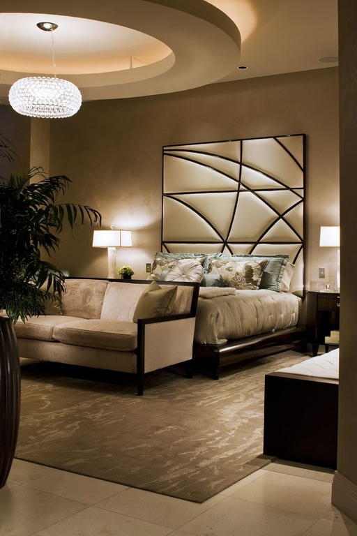 25 stunning luxury master bedroom designs for Master bedroom contemporary decorating ideas