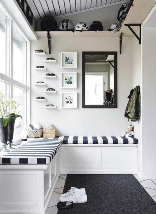 Contemporary Mud Room