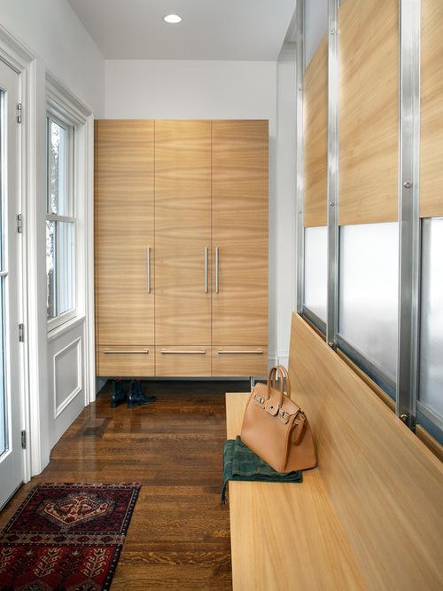 Contemporary Mudroom Home Design
