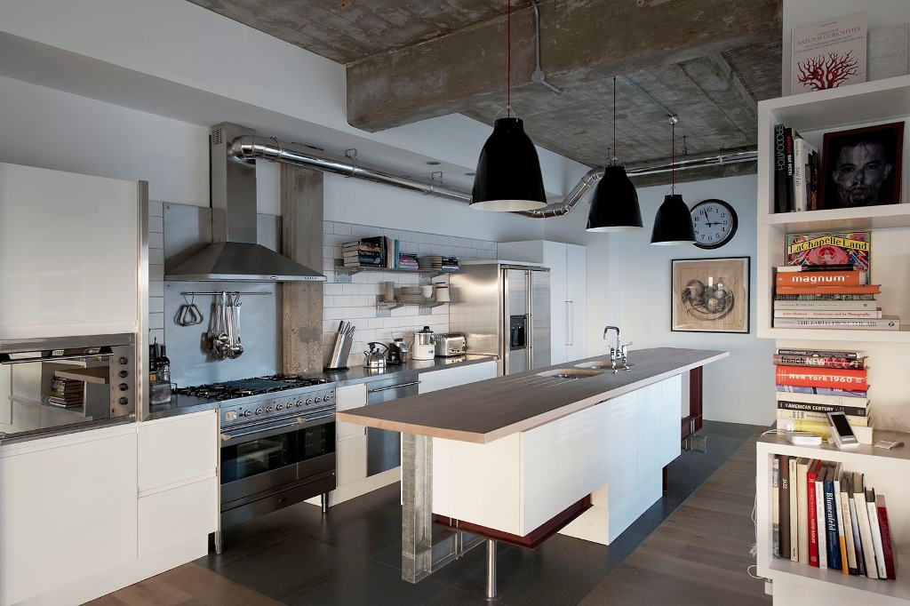 Contemproary-Industrial-Kitchen