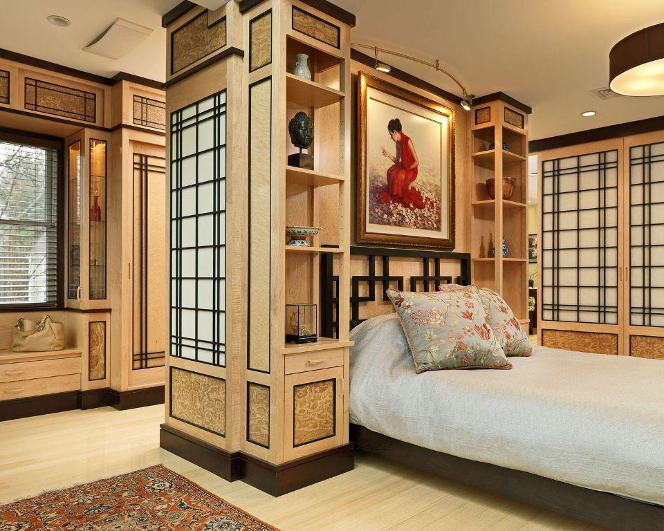 Custom Asian Bedroom