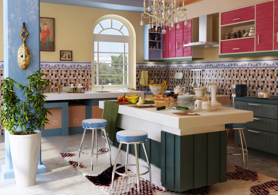 Decorating a Modern Mediterranean Kitchen