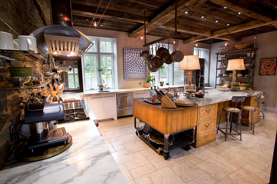 awesome industrial style home design | 25 Awesome Industrial Kitchen Design Ideas