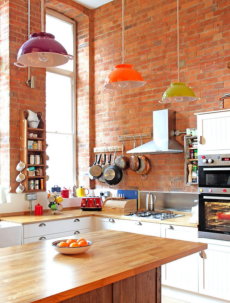 kitchen design brick wall checkout most popular types of eclectic kitchen designs 862