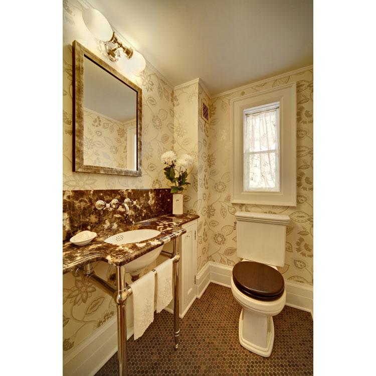 Elegant Powder Room Design