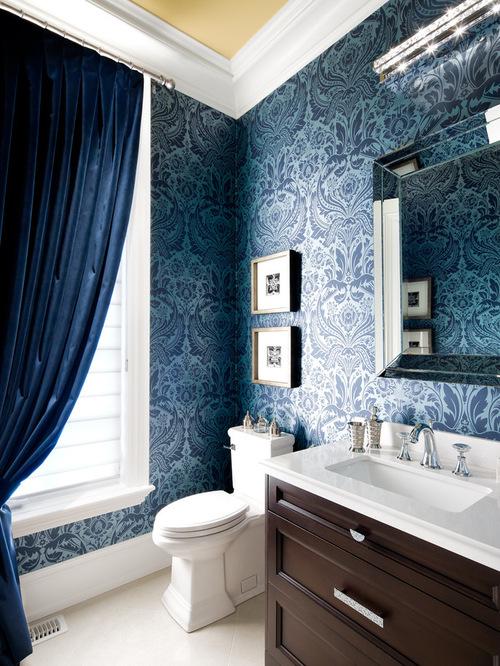 Elegant Powder Room Home Design Photos