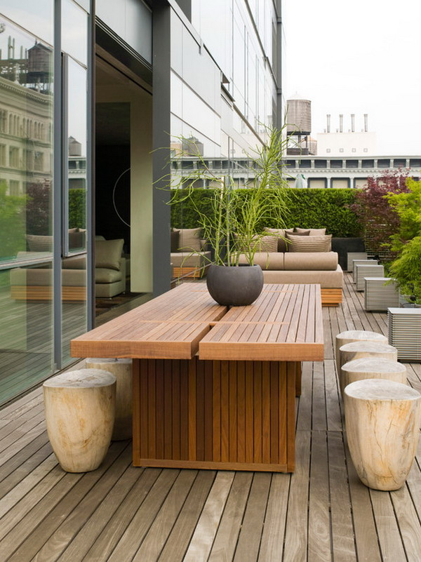 25 great ideas for modern outdoor design for Cool outdoor furniture ideas