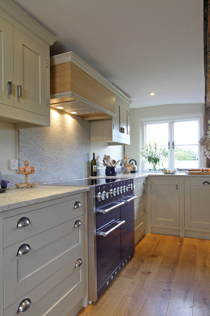 Handmade In-Frame Kitchen in Old White farmhouse-kitchen