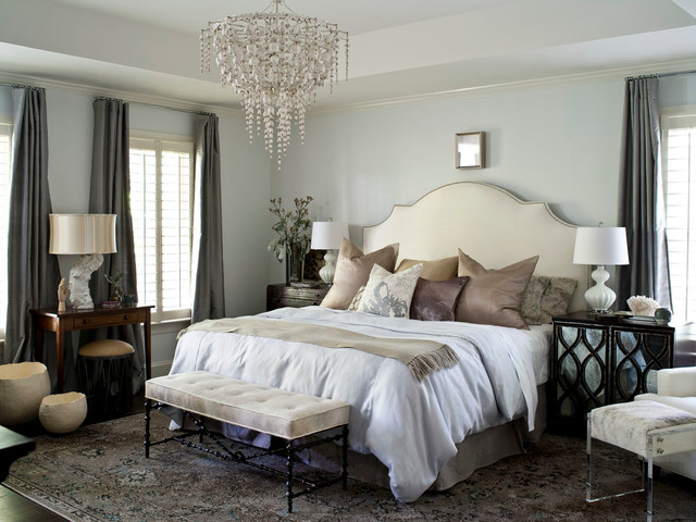 Hope Valley Refined transitional-bedroom