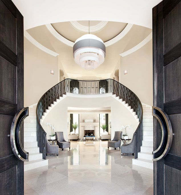 Modern Foyers : Luxury foyer decorating and design ideas