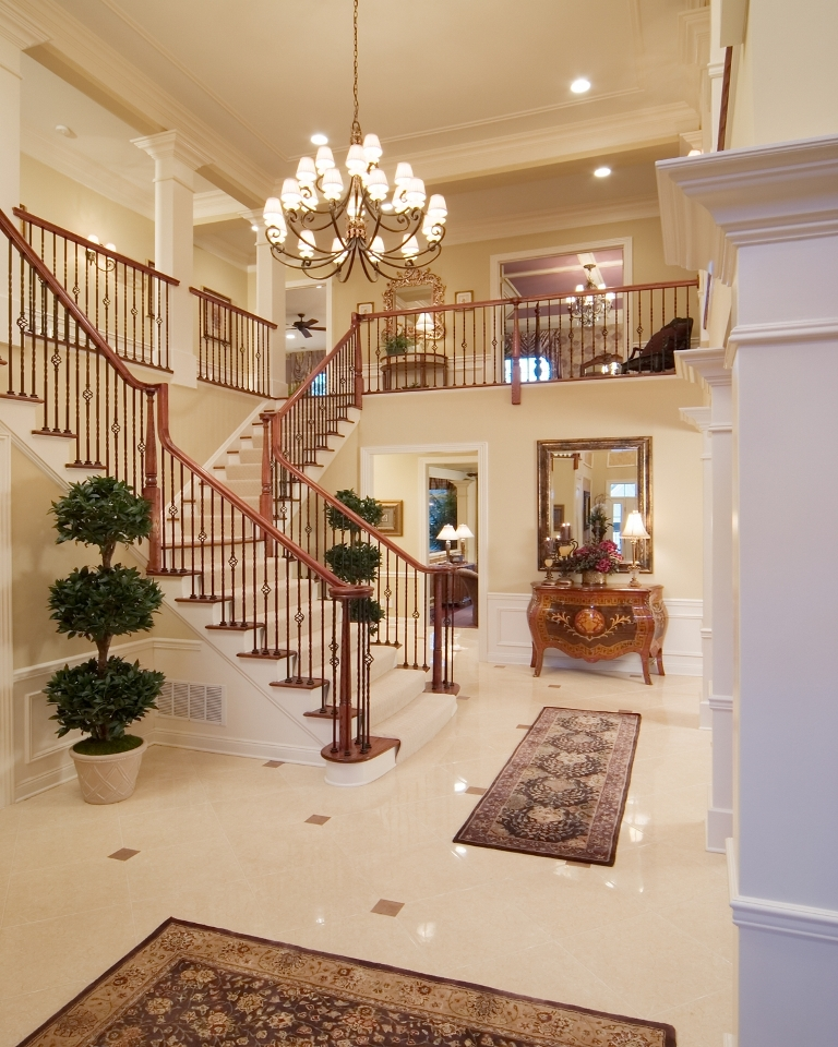 Foyer Design Ideas : Luxury foyer decorating and design ideas