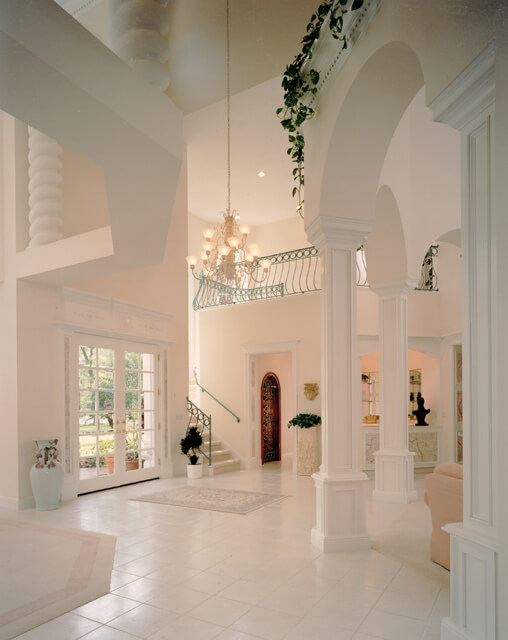 Luxury foyer decorating and design ideas