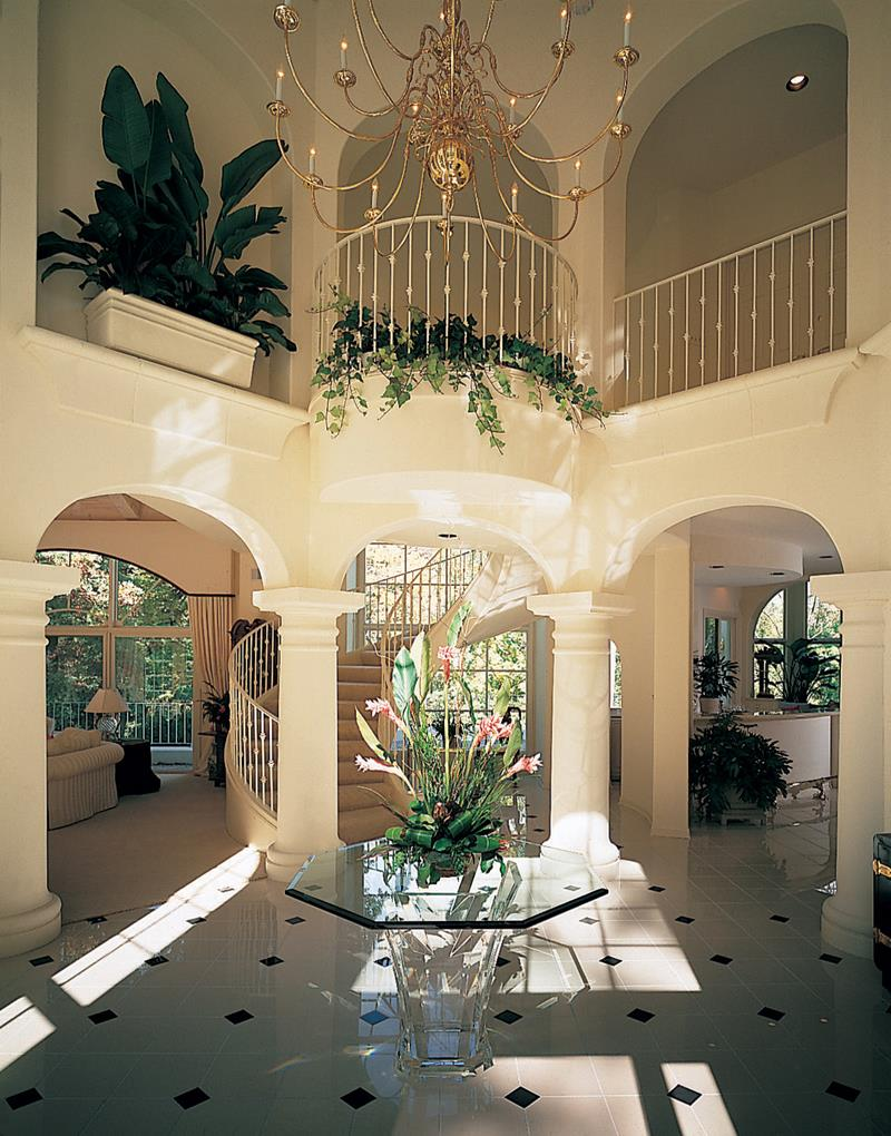 30 luxury foyer decorating and design ideas for Design and deco