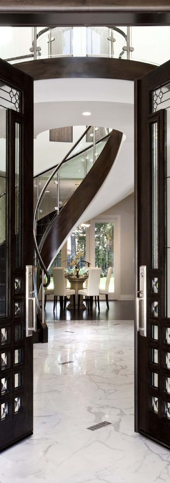 Luxury Foyer Decorating And Design Ideas 9