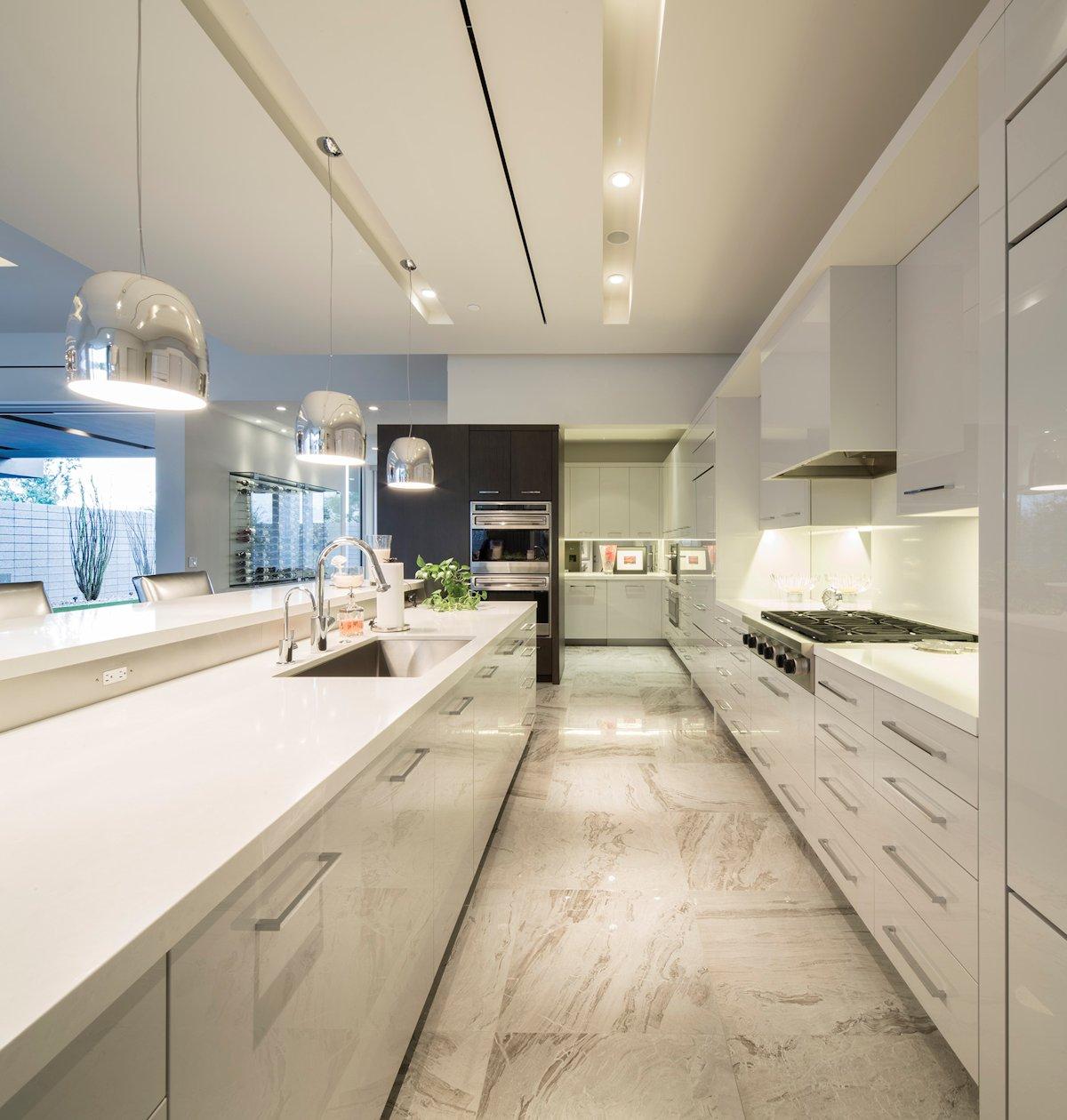 Mid Century Modern Kitchen White