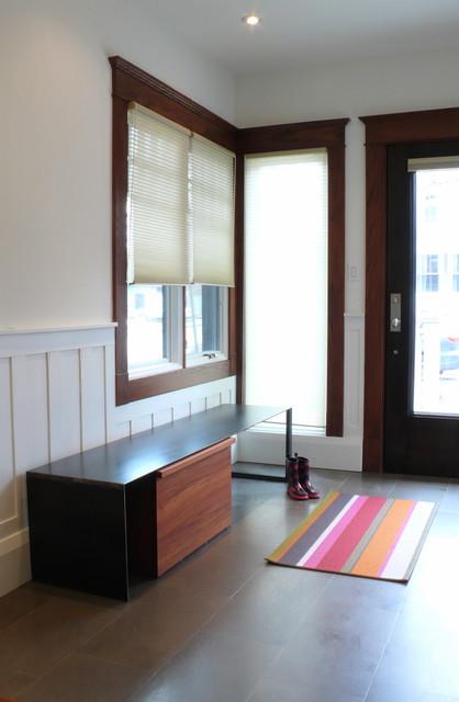 Mud Room contemporary-entry