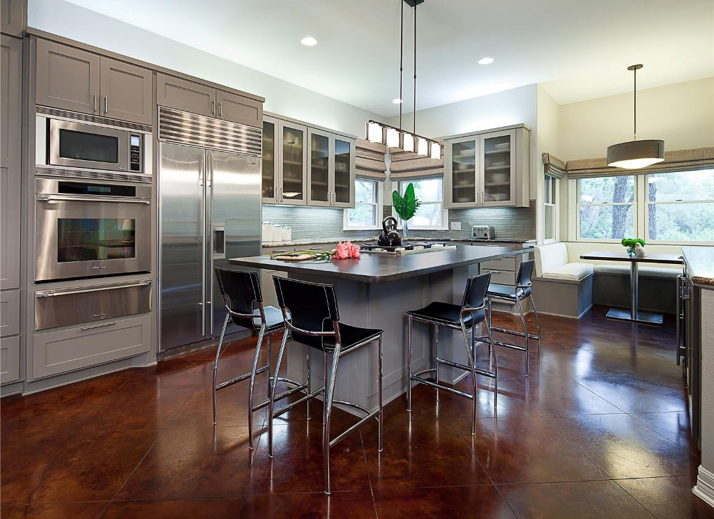 35 reasons to choose luxurious contemporary kitchen design for Modern kitchen ideas 2016