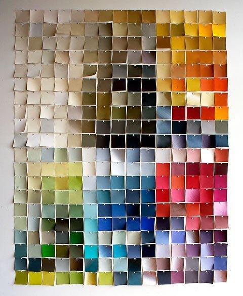 Paint Chips Wall Art