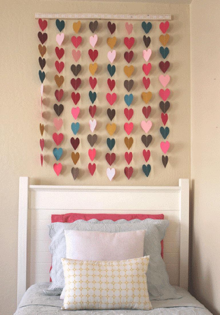 Декор комнаты своими руками - 12 лучших идей, красивый декор